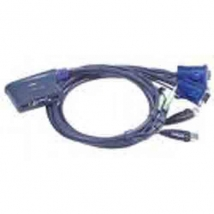 Aten switch: KVM 4p. Cable KVM USB + Audio