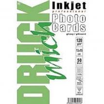 Fotopapier Glossy 120gr Enkelzijdig 50st 10x15