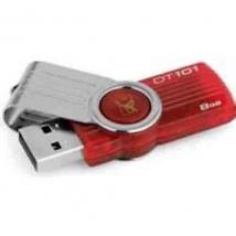 Kingston 8Gb Datatraveler 101 USB2.0 rood