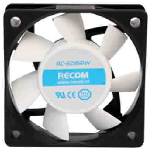 FAN RECOM RC-6015BW 60mm Wit
