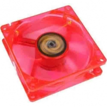 Cooler Revoltec 120MM Fan red led
