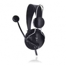 Headset USB Ewent EW3579 Black
