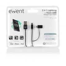 EW9909 2-in-1 Lightning + Micro USB