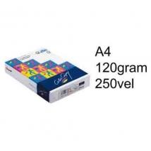 Papier A4 colourdoc 120Gr  250Vel