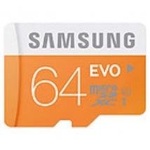 Samsung Evo 64GB Micro SDXC Kaart