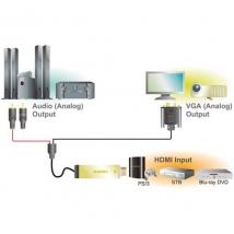 LogiLink HDMI --> VGA / Audio / USB2.0 2.00m