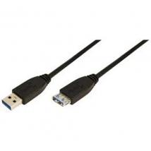 LogiLink USB 3.0 A --> A 1.00m Verleng