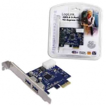 PCI express card USB 3.0 2x  Logilink