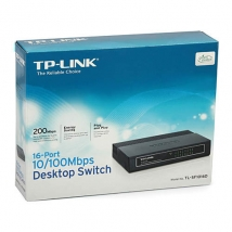 TP-Link 16 ports switch 100Mbit TL-SF1016D