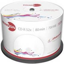 Primeon CD-R80 50 stuks Printable