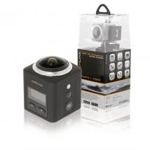 Full HD Action Camera 360 ° 2K Wi-Fi / Microphone Black