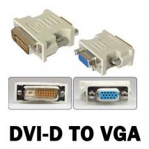 DVI-D 24 Pin to VGA adapter