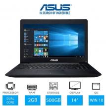 """Asus X453M  14.0"""" Cel/2GB/500GB HDD/NoDVD/W10"""