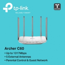 TP-Link Archer C60 AC1350 Wireless Dual Band