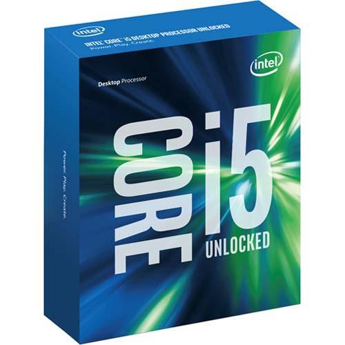 CPU Intel core i5 6600K 3