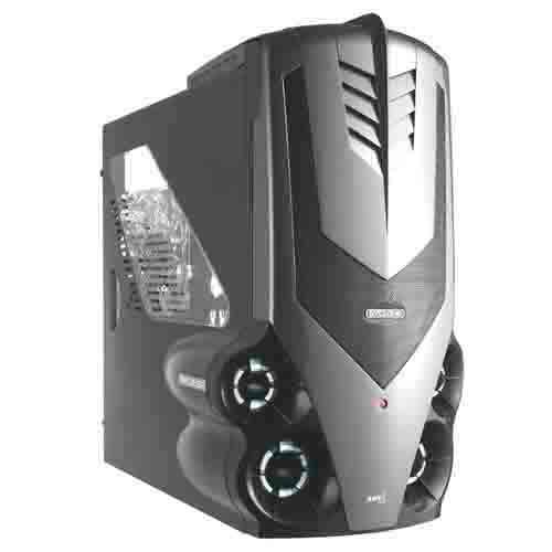 AEROCOOL Syclone Titanium Case black
