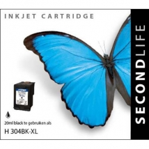 SecondLife - HP 304 XL Black 20