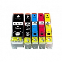 Inkt T-Color Epson T3364XL Yellow 24ml